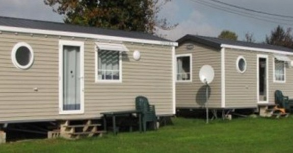 Supreme Mobile Home with 2 Bedrooms