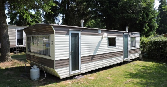 Basic Mobile Home with 2 Bedrooms